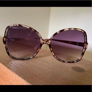 LOFT Oversized butterfly sunglasses